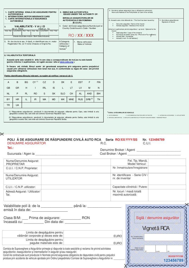 Pentru efectuarea inspectiei tehnice periodice, Asigurarea de Raspundere Civila Auto trebuie sa fie valabila la data inspectiei si prezentata in original.
